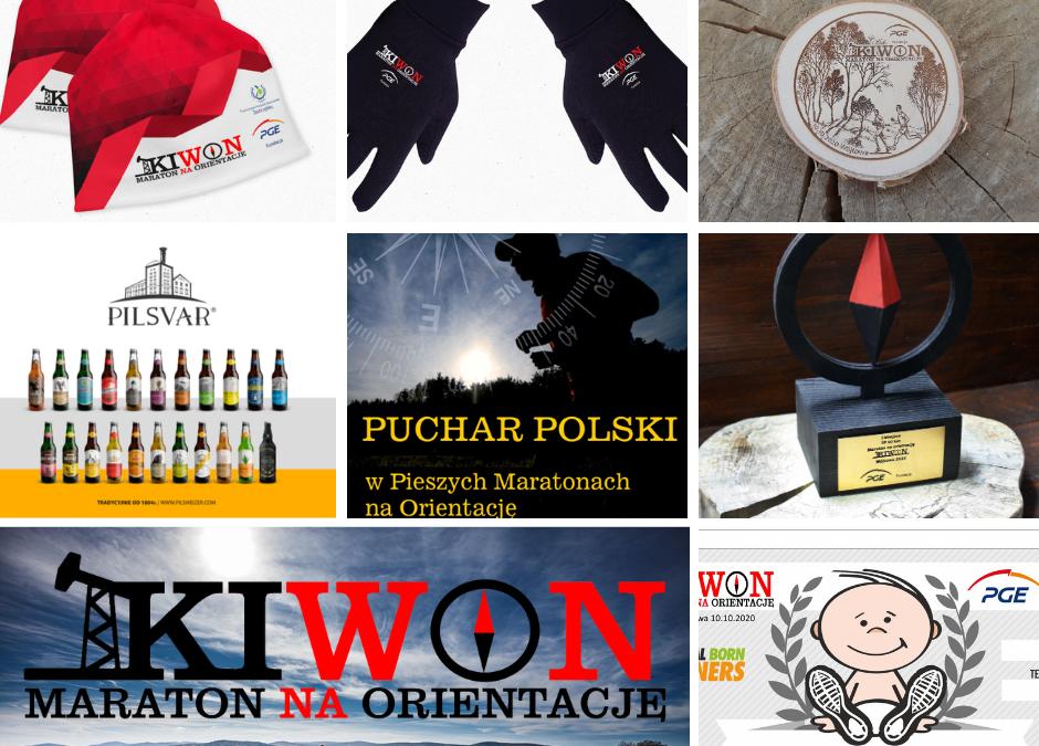 Pakiet startowy i nagrody KIWON 2020